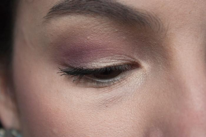 Frühlings Make-up closeup Auge rosa Annika Hähnlein Mönchengladbach