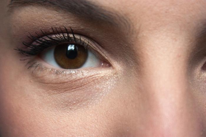 Frühlings Make-up rosa Annika Hähnlein Mönchengladbach closeup Auge