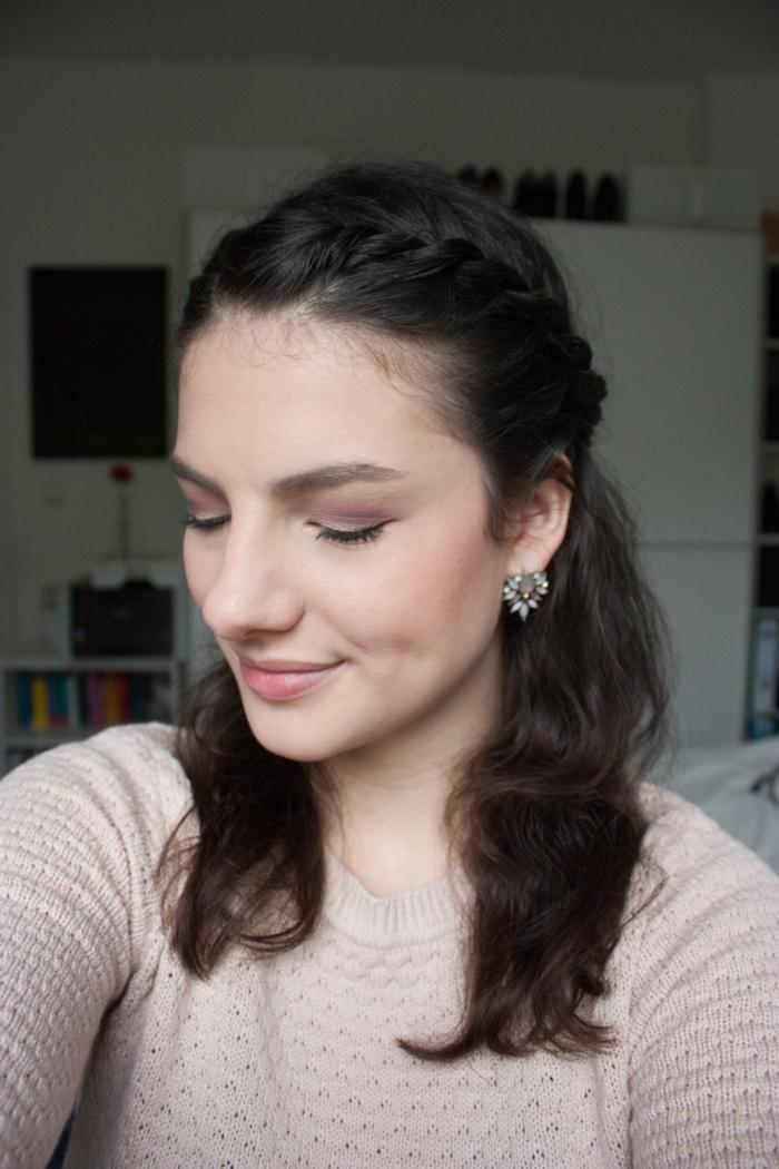 Annika Hähnlein Frühshlings Make-up rosa Mönchngladbach
