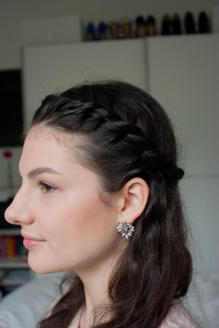 Frühlings Make-up rosa Annika Hähnlein Mönchengladbach Frisur