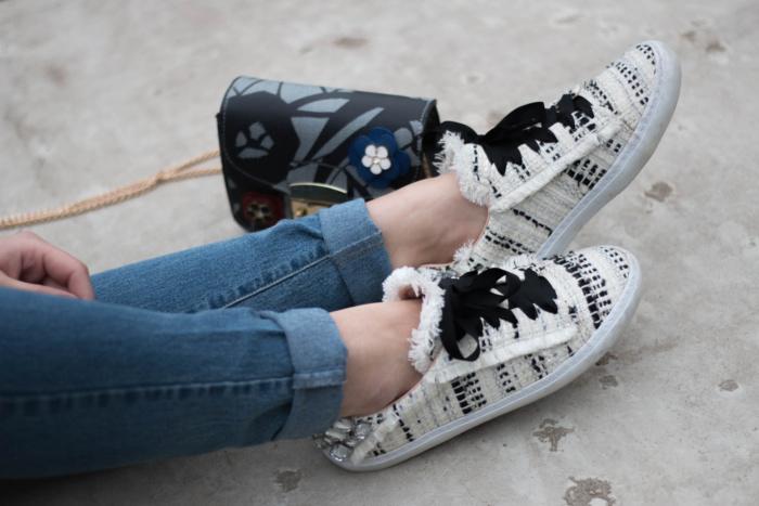 Zara Strass Sneaker